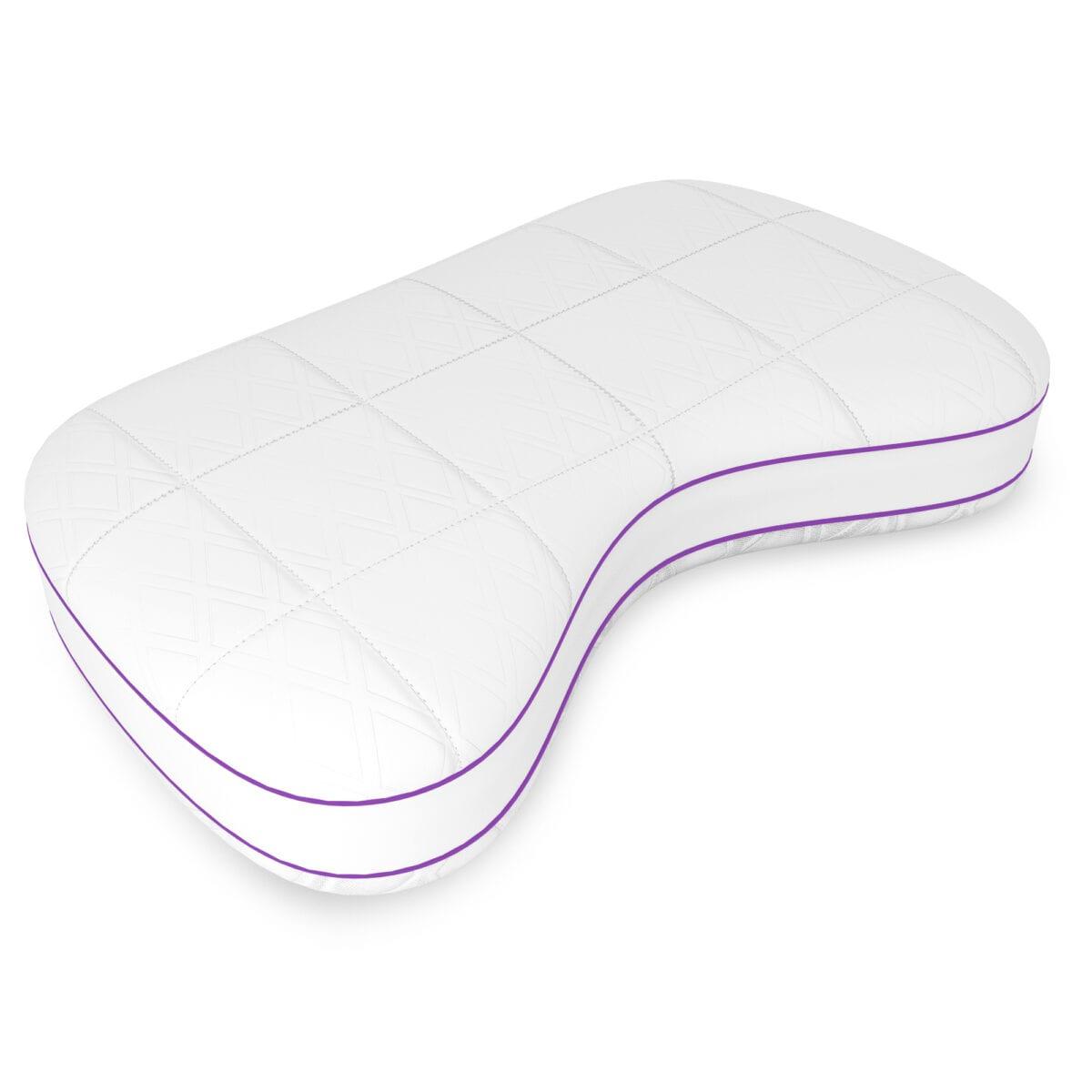Image of Quest High Profile Memory Comfort Fiber Pillow