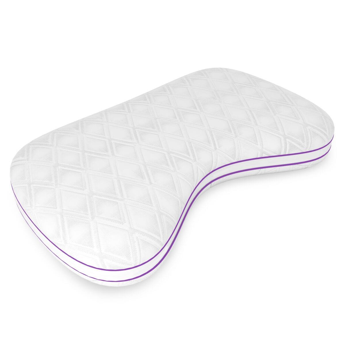 Image of Quest Low Profile Memory Comfort Fiber Pillow