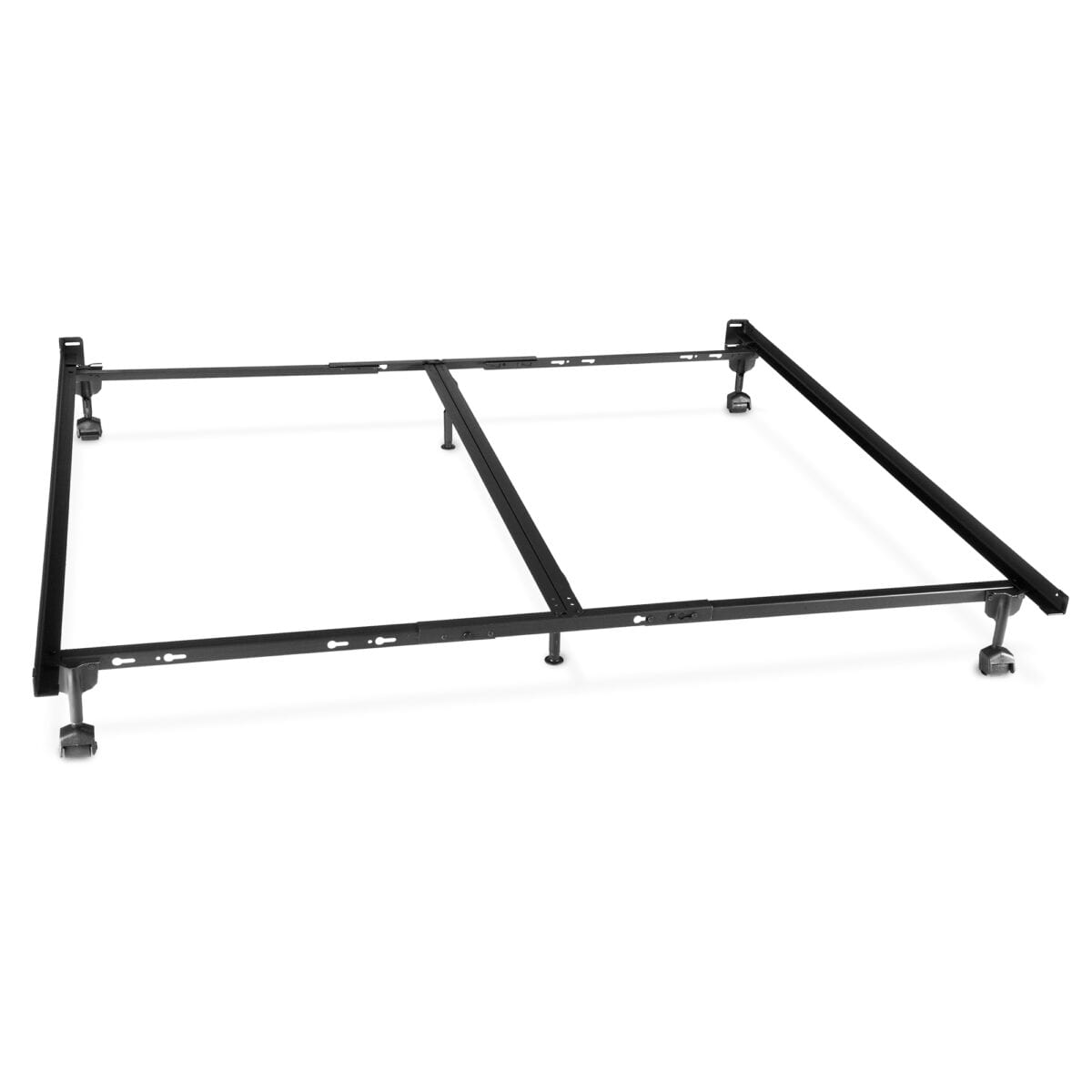 Image of Advantage Steel Bed Frame with Rug Rollers