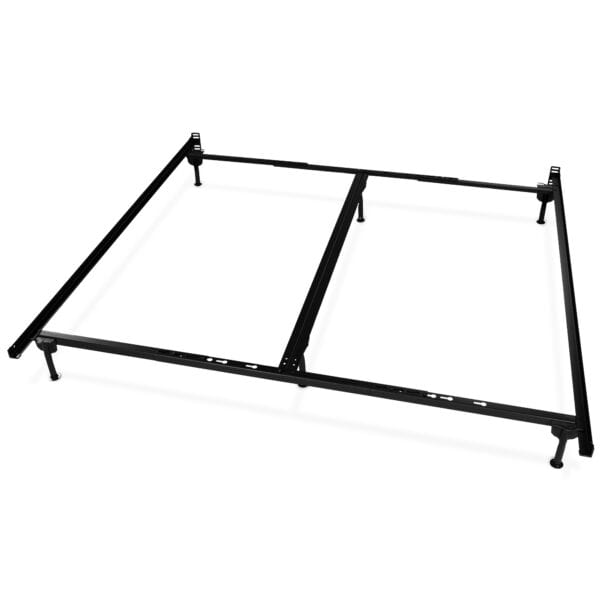 Image of Classic Steel Bed Frame with Glides