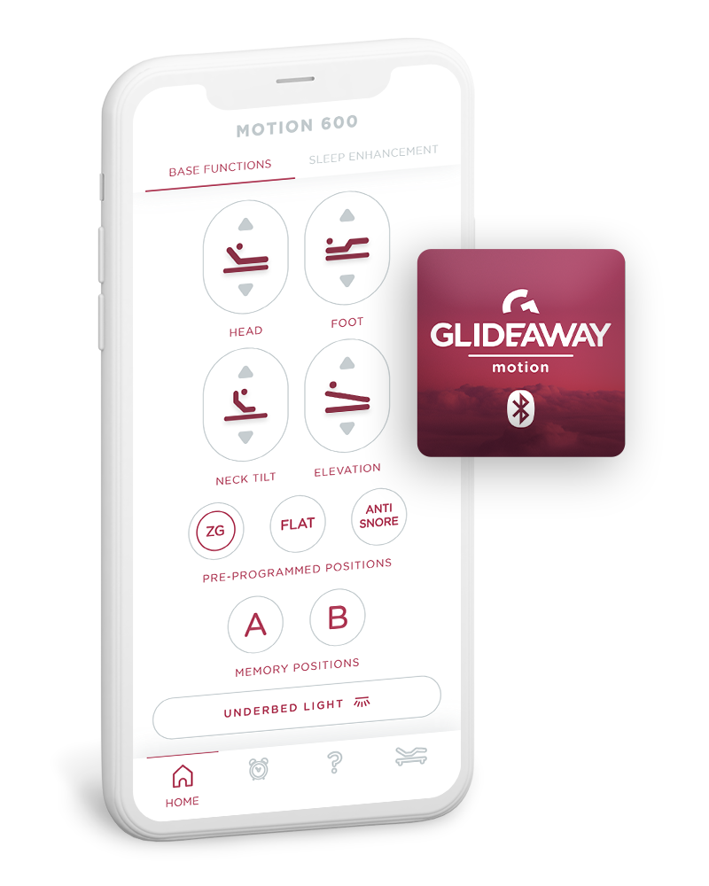 Image of Glideaway Motion Bluetooth iPhone App