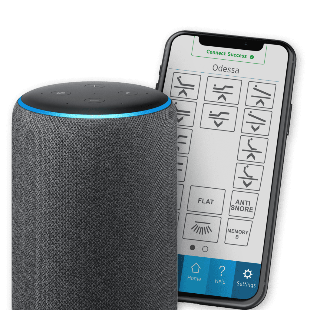 Image of Alexa and iPhone App